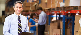 commercial warehouse manager