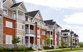 row homes